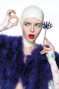 make up trendy fotograf: Grzegorz Szafruga projektanci/styliści: Paulina Selene Mieczkowska & Paweł Tumiłowicz Mua & włosy: Martyna Molenda Modelka: Weronika / Mango Models