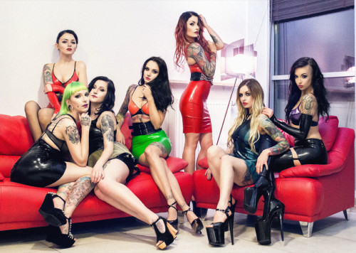 Latex Toxic Girls suicide girls