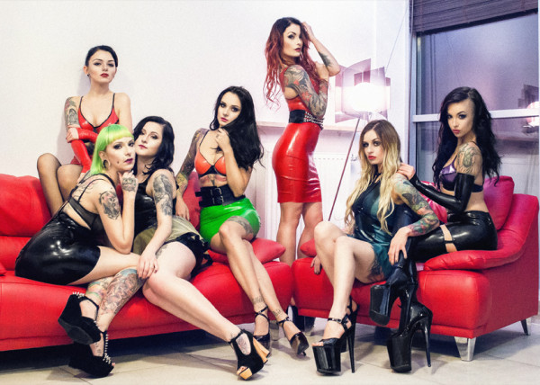 Latex Toxic Girls suicide girls
